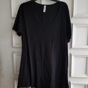 LuLaRoe Perfect T black size XL